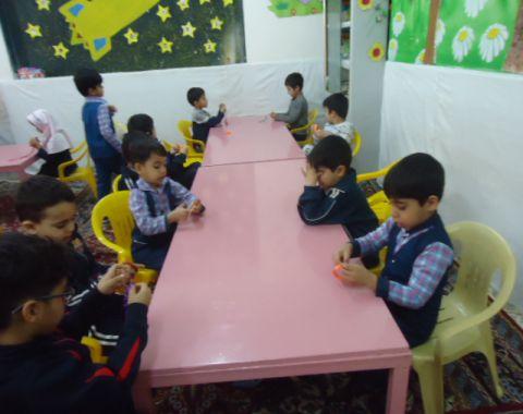 گزیده ای از فعالیتهای کلاسی-بهمن ماه